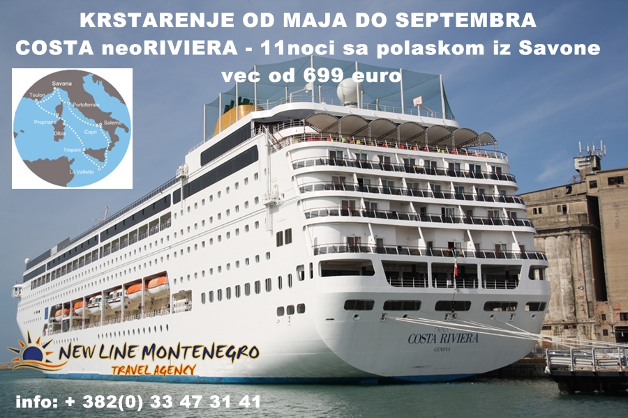 NewLine Montenegro - Zapadni Mediteran - Slika 2