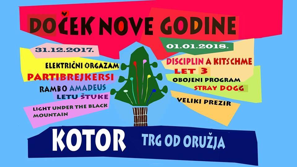 KOTOR - 2018 NOVA GODINA
