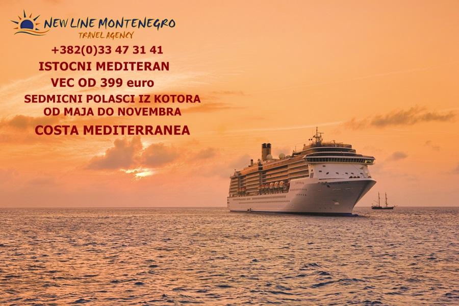 NewLine Montenegro - Zapadni Mediteran - Slika 1