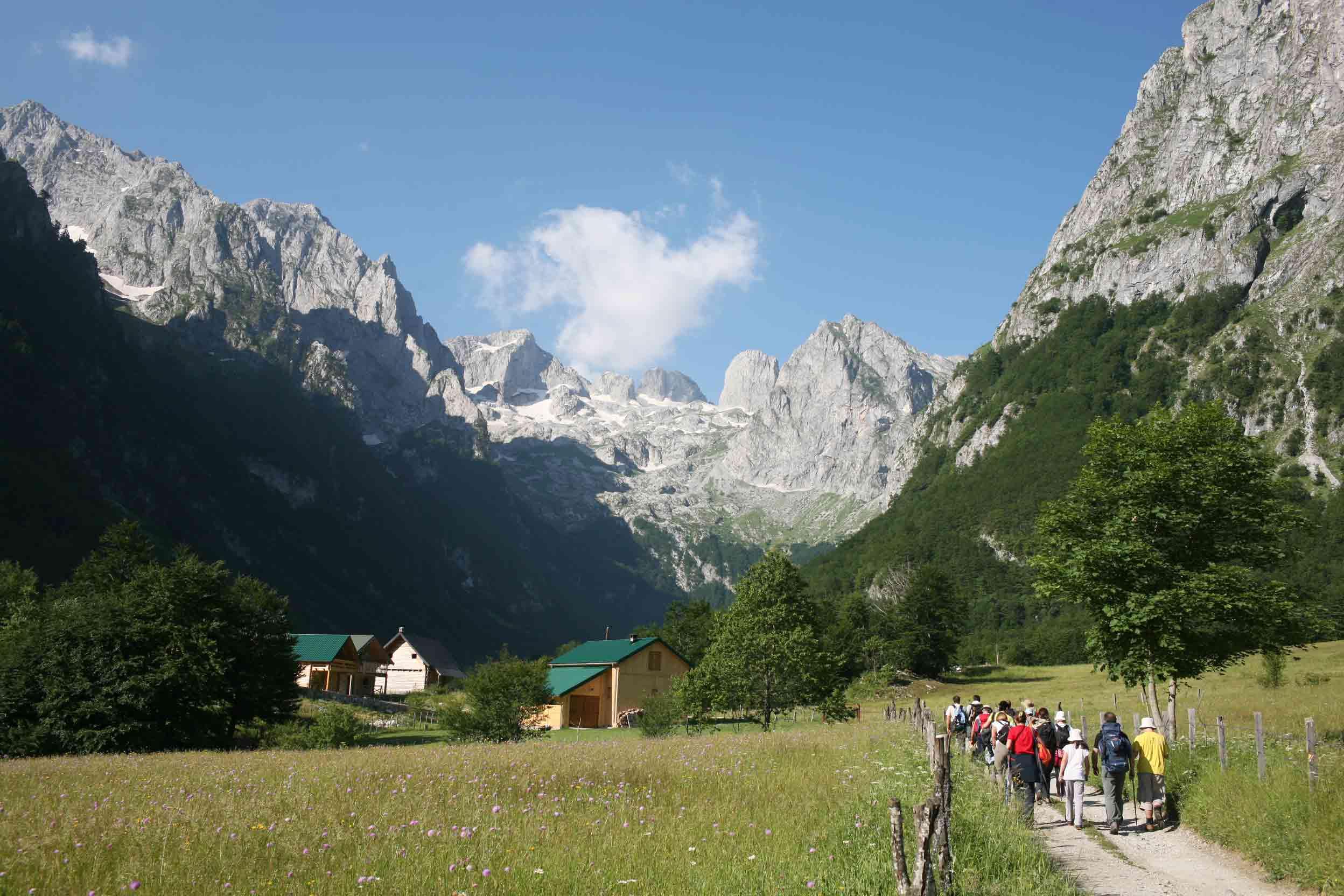 Небольшой национальный парк Проклетие находится на востоке Черногории