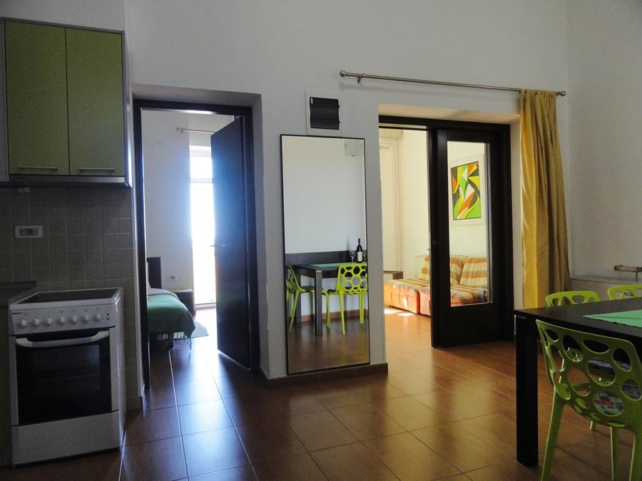 ЗЕЛЕНЫЙ апартамент с двумя спальнями