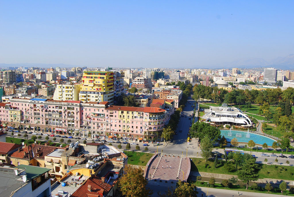 Поездка в Албании