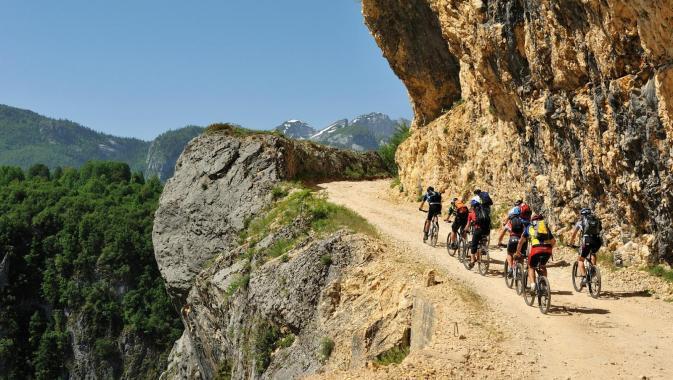 велосипедные туристические тропы